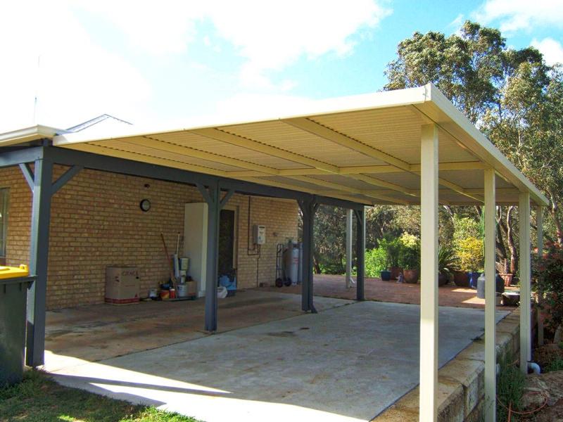 Amazing Flat Roof Patio